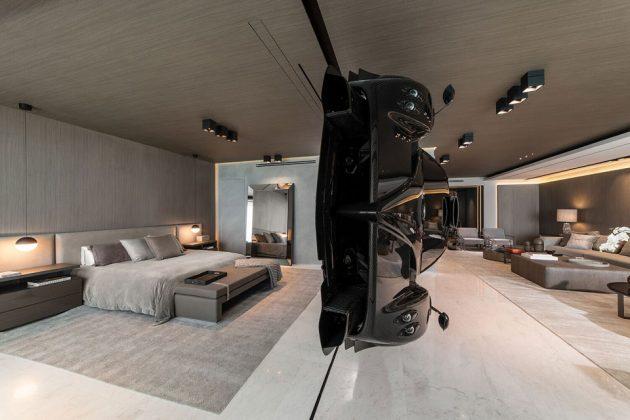 Pagani Zonda R Room Divider