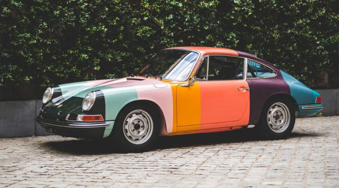 Paul Smith Touched 65' Porsche 911 Is Possibly The Coolest 65' 911 Can Gets
