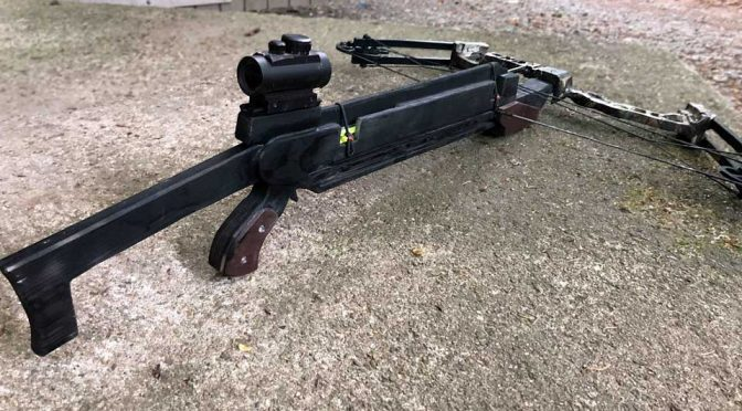 Real-life Pump Action Crossbow