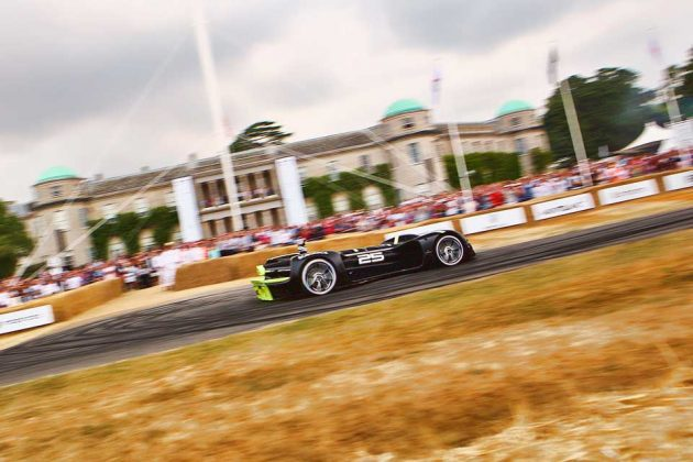 Robocar Hillclimb Autonomously at Goodwood