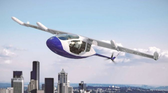 Rolls-Royce Concept Electric VTOL Vehicle