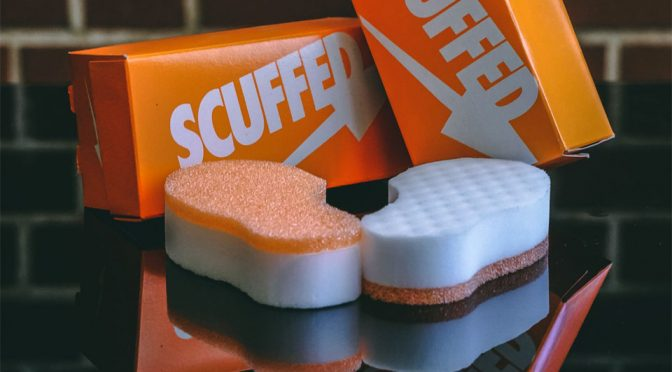 Scuffed Up: The Magic Clean For Sneakers Without Chemicals