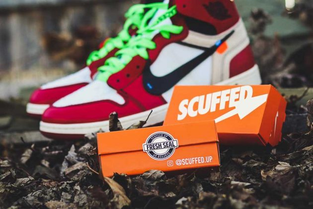 Scuffed Up Sneakers Cleaner