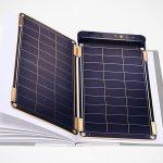 Yolk Revolutionized Solar Charging With Thin Like Paper Solar Paper