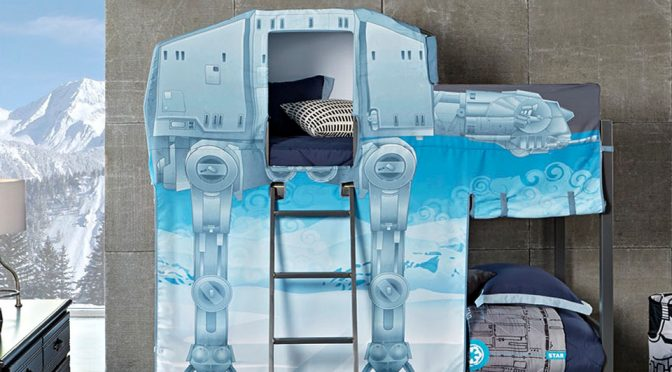 Star Wars AT-AT Walker Twin Bunk Bed
