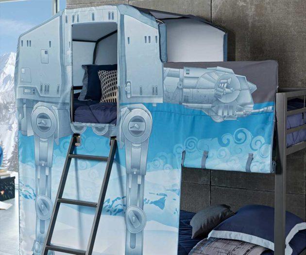 Star Wars AT-AT Walker Twin Bunk Bed