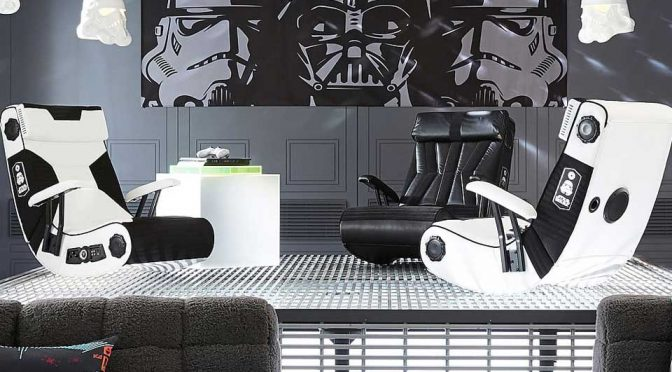 If Darth Vader Played Video Games, This Would Be The Chair He'd Use