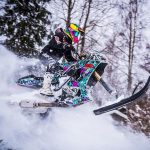 Extreme Motorsport Junkies Turned A Suzuki GSX-R Into Snow-going Beast