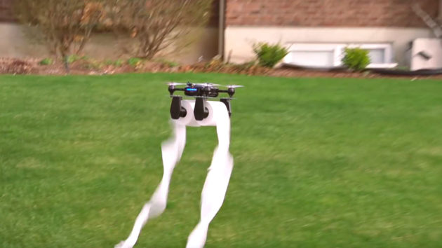 Teal Drones Toilet Paper Drone Prank