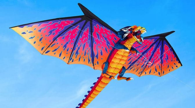The 10-Foot Realistic Dragon Kite