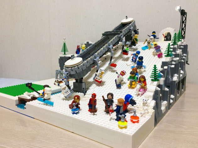 The Beautiful World of Dr. Peisan LEGO MOC