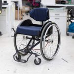Leaning Will Make This Wheelchair Steers, Much Like Skateboard Does
