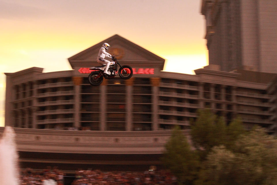 Travis Pastrana Broke Evel Knievel's Records
