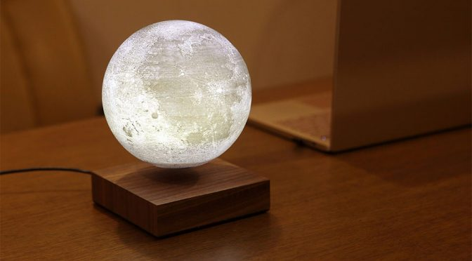 With Levitating Moon Lamp, You Can Literally Own A Moon