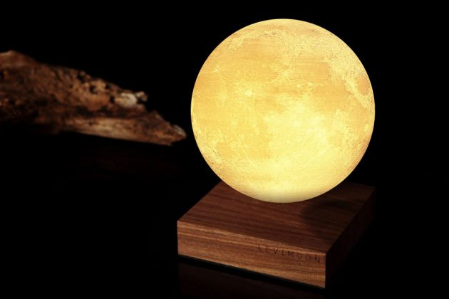 Wireless Charging Levitating Moon Light