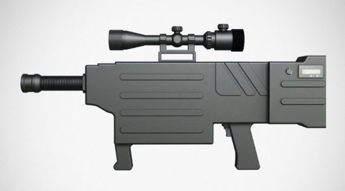 ZKZM-500 Laser Assault Rifle
