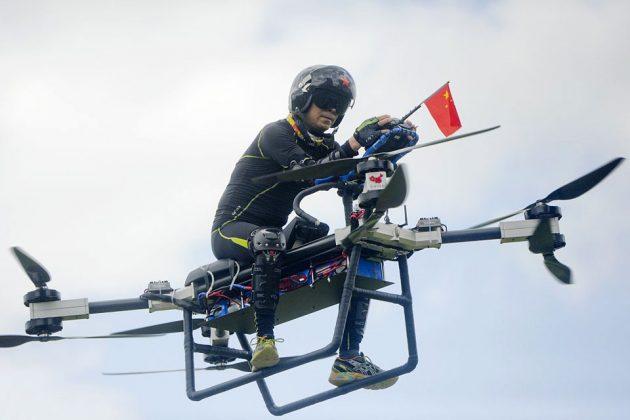 Zhao Deli Jindouyun Hoverbike