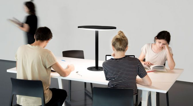 This Designer Desk Lamp Also Transmits High-Speed Internet