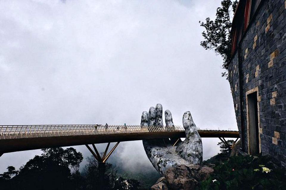 Đà Nẵng Bà Nà Hills Bridge Vietnam