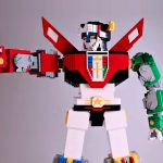 LEGO Marks The Launch Of LEGO Voltron With 6 Feet Tall LEGO Voltron
