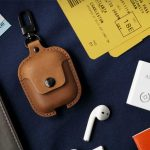 AirSnap Leather Case Adds A Touch Of Class To Apple AirPods