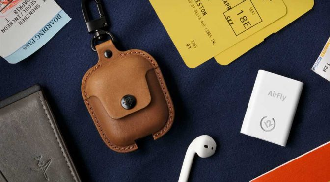 AirSnap Leather Case for AirPods