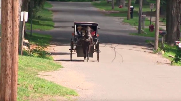 Amish Version of Uber Ride in Michigan