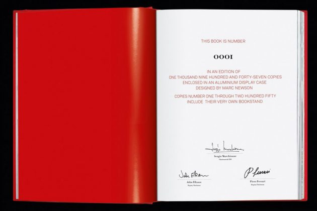 Art Edition Ferrari Book