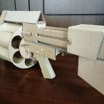 Japanese Maker Made A Working Cardboard Grenade Launcher