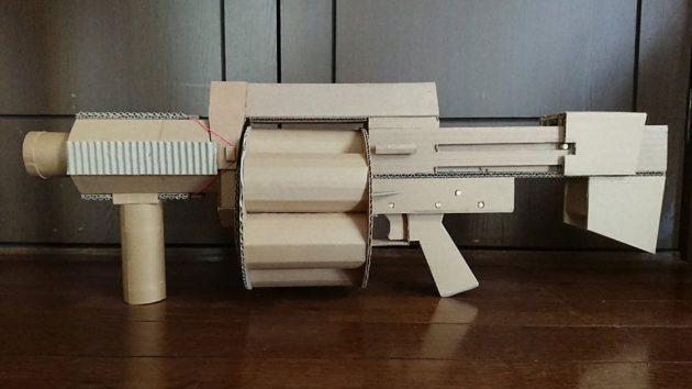 Cardboard Grenade Launcher