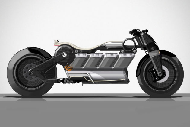 Curtiss Hera Electric Motorcycle