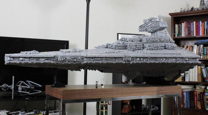Mind Blown: 35,000 Bricks Custom LEGO Imperial Star Destroyer