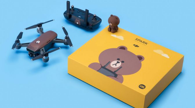 DJI x LINE FRIENDS Spark Imaging Drone