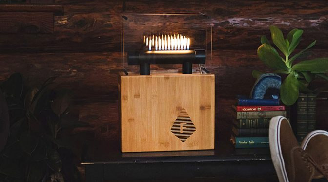 Fireside Audiobox Is Quite Literally The Hottest Bluetooth Speaker Right Now