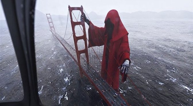 Giant Golden Gate Bridge Grim Reaper Was So Real, It'd Give You The Creep