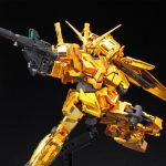 Bandai RG Unicorn <em>Gundam</em> In Gold Set To Go On Sale On August 10