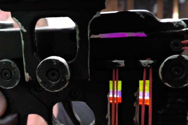 Han Solo DL-44 Heavy Blaster Rubber Band Gun