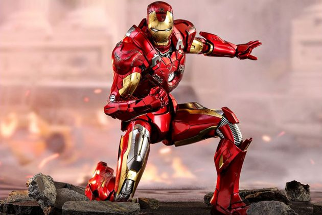 Hot Toys Iron Man VII 1/6th Die Cast Scale Collectible Figure