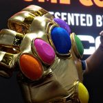 The Greatest Cosplay At SDCC Was This: A Human-size Infinity Gauntlet