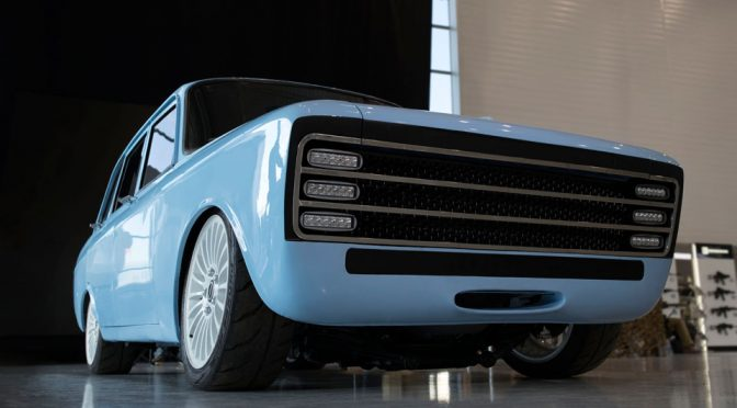 Kalashnikov Wants To Take On Tesla With This Decidedly Retro Electric Car
