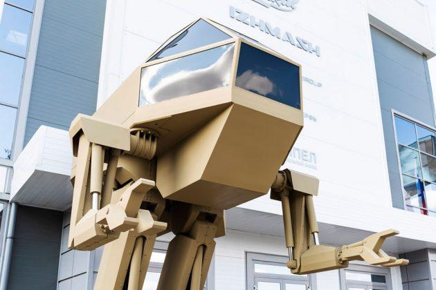 Kalashnikov Unveiled Mecha Robot Concept