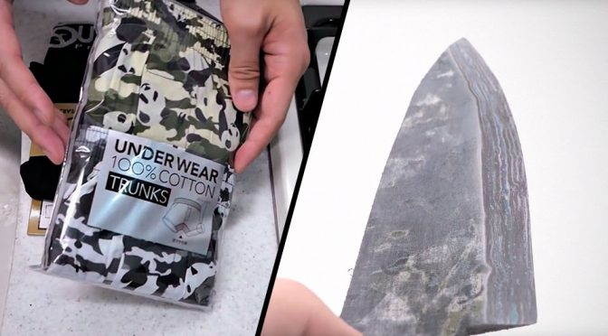Sharpest Underwear Kitchen Knife: Who Knew Underwear Could Cut?