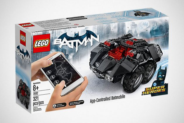 Lego App Controlled Batmobile Is Now Available But It Is