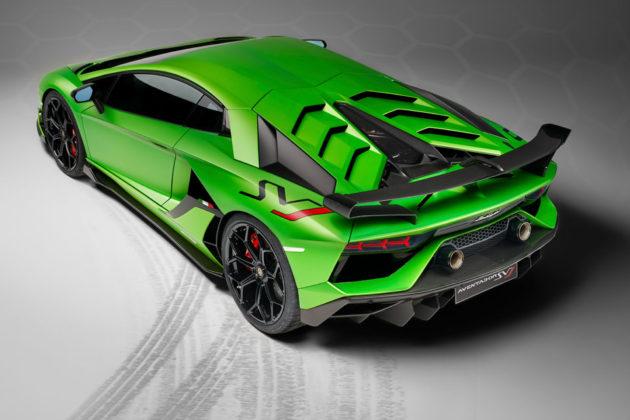 Lamborghini Aventador SVJ Supercar