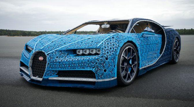 Life-size LEGO Bugatti Chiron