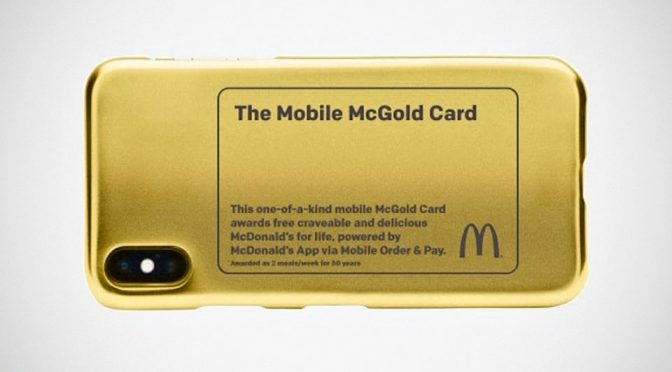 McDonald's Mobile McGold Sweepstakes