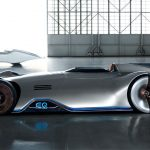 Mercedes-Benz Unveiled Futuristic EV Called Vision EQ Silver Arrow