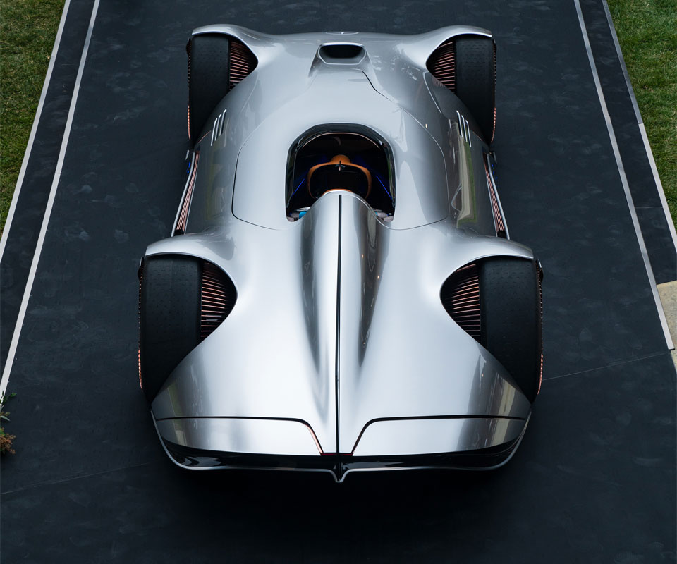 Mercedes-Benz Unveiled Futuristic EV Called Vision EQ ...