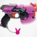 Second <em>Overwatch</em> NERF Blaster Revealed And It Is A D.Va's Light Gun