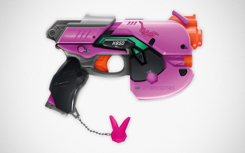 NERF Rival Overwatch D.Va Light Gun Blaster